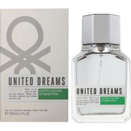 Benetton United Dream Men Aim High Eau de Toilette para homens 100 ml
