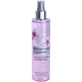 Benetton Magnetizing Jasmine spray corporal para mujer 250 ml