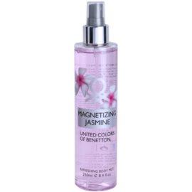 Benetton Magnetizing Jasmine Körperspray für Damen 250 ml