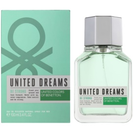 Benetton United Dreams Men Be Strong Eau de Toilette für Herren 100 ml
