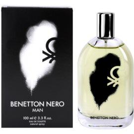 Benetton Nero Eau de Toilette pentru barbati 100 ml