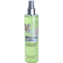 Benetton Refreshing Apple spray do ciała dla kobiet 250 ml