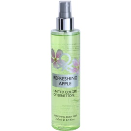 Benetton Refreshing Apple Body Spray for Women 250 ml
