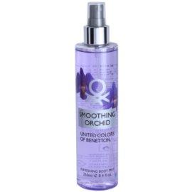 Benetton Smoothing Orchid spray pentru corp pentru femei 250 ml
