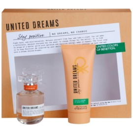 Benetton United Dream Stay Positive set cadou II. Apa de Toaleta 50 ml + Lotiune de corp 100 ml