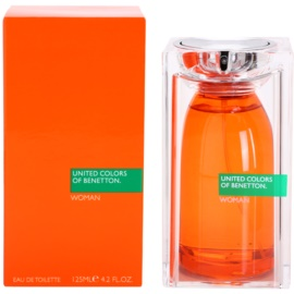 Benetton United Colors of Benetton Woman eau de toilette para mujer 125 ml