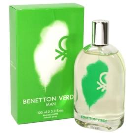 Benetton Verde Eau de Toilette für Herren 100 ml