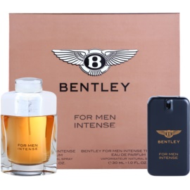 Bentley Bentley for Men Intense set cadou I. Eau de Parfum 100 ml + Eau de Parfum 30 ml