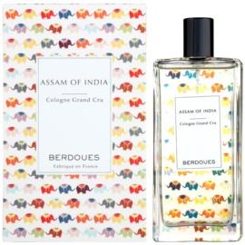 Berdoues Assam of India Eau de Cologne unisex 100 ml
