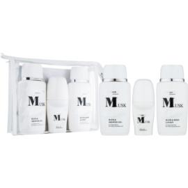 Bettina Barty Classic Musk Geschenkset II.  Körperlotion 150 ml + Dusch - und Badegel 150 ml + Deo-Roller 50 ml