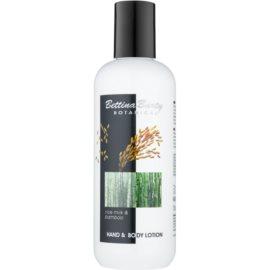 Bettina Barty Botanical Rice Milk & Bamboo Hand - und Bodylotion mit feuchtigkeitsspendender Wirkung  400 ml