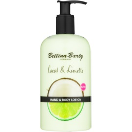 Bettina Barty Coconut & Lime lait mains et corps  500 ml