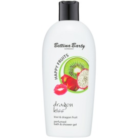 Bettina Barty Happy Fruits Kiwi & Dragon Fruit sprchový a kúpeľový gél  400 ml