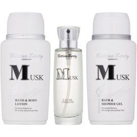 Bettina Barty Classic Musk Geschenkset III.  Eau de Toilette 50 ml + Körperlotion 150 ml + Duschgel 150 ml