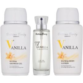 Bettina Barty Classic Vanilla set cadou IV.  Apa de Toaleta 50 ml + Gel de dus 150 ml + Lotiune de corp 150 ml
