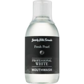 Beverly Hills Formula Professional White Range вода за уста с избелващ ефект за възстановяване на зъбния емайл  300 мл.