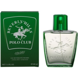 Beverly Hills Polo Club Green Colours тоалетна вода за мъже 100 мл.