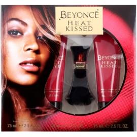 Beyonce Heat Kissed dárková sada II.  parfémovaná voda 30 ml + sprchový gel 75 ml + tělové mléko 75 ml