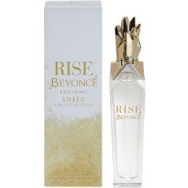 Beyonce Rise Sheer Limited Edition Eau de Parfum für Damen 100 ml