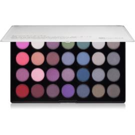 BHcosmetics 28 Color Smoky paleta kouřových očních stínů 28 Color  39 g