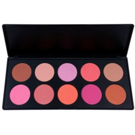 BHcosmetics 10 Color paleta tvářenek  35 g