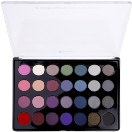 BHcosmetics 28 Color Smoky Palette mit rauchigen Lidschatten 28 Color  47 g