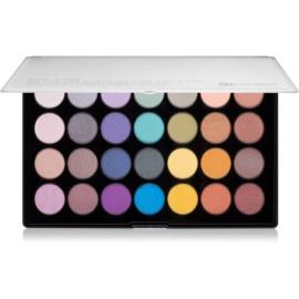 BHcosmetics 28 Color Foil metálszínű szemhéjfesték paletta  44,8 g