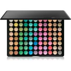 BHcosmetics 88 Color Matte paleta de sombras de ojos con un espejo pequeño 88 Color  71 g