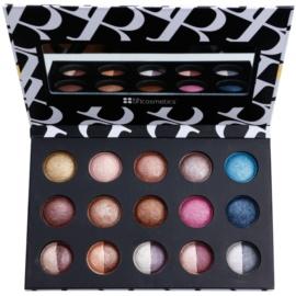 BHcosmetics Baked and Beautiful paleta senčil za oči z ogledalom  35 g