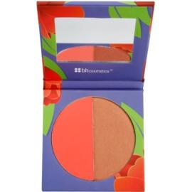 BHcosmetics Blush Duo fard de obraz in doua culori culoare Tulip 11 g