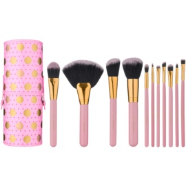 BHcosmetics Dot set di pennelli  11 pz