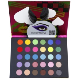 BHcosmetics Eyes on the ´80s paleta očních stínů  23 g