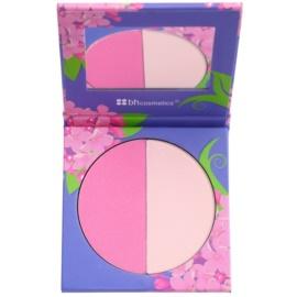 BHcosmetics Floral tvářenka se zrcátkem odstín Lilac 11 g