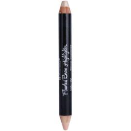BHcosmetics Flawless kiemelő szemöldök kontúr ceruza 2 az 1-ben  4 g