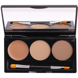 BHcosmetics Flawless set na obočí odstín Light 3,1 + 1,2 g