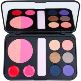 BHcosmetics Forever Glam palette de maquillage avec miroir  22 g