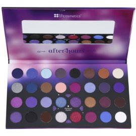 BHcosmetics Party Girl After Hours paleta očních stínů se zrcátkem  24,8 g