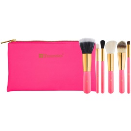 BHcosmetics Neon Pink Pinselset  6 St.