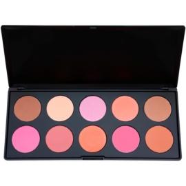 BHcosmetics Professional Rouge Palette  27 g