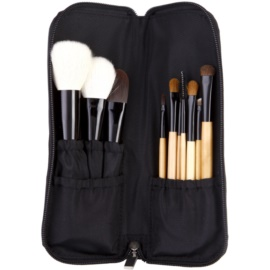 BHcosmetics Wood Pinselset  10 St.