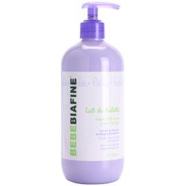 Biafine Bebe čistiace telové mlieko pre suchú až atopickú pokožku  500 ml
