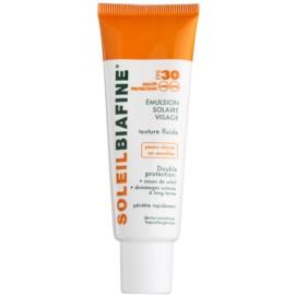 Biafine Soleil Fluid protector pentru piele foarte sensibila SPF 30  50 ml