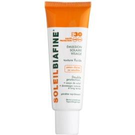 Biafine Soleil fluido de proteção para pele muito sensível e suave SPF 30   50 ml