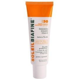 Biafine Soleil Bräunungsemulsion für das Gesicht SPF 50  50 ml