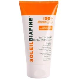 Biafine Soleil hydratační mléko na opalování SPF 50+  150 ml