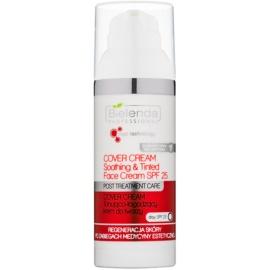 Bielenda Professional Med Technology Getönte beruhigende Creme SPF 25  50 ml