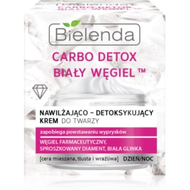 Bielenda Carbo Detox White Carbon Moisturising Day and Night Cream  50 ml