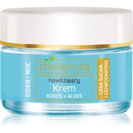 Bielenda Hydra Care Coconut & Aloe crema idratante intensa per pelli disidratate e secche  50 ml