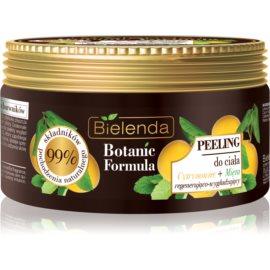 Bielenda Botanic Formula Lemon Tree Extract + Mint glättendes Body-Peeling   350 g