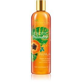 Bielenda Exotic Paradise Papaya Ulei gel de duș și baie 400 ml
